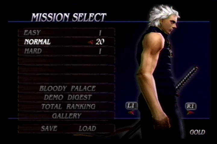 Devil May Cry 3: Special Edition Cheats game ps2