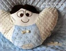 Little Angel - anielska poduszi i kocyk minky