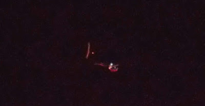 Glowing Red UFO Caught Over Mississippi 2015, UFO Sightings