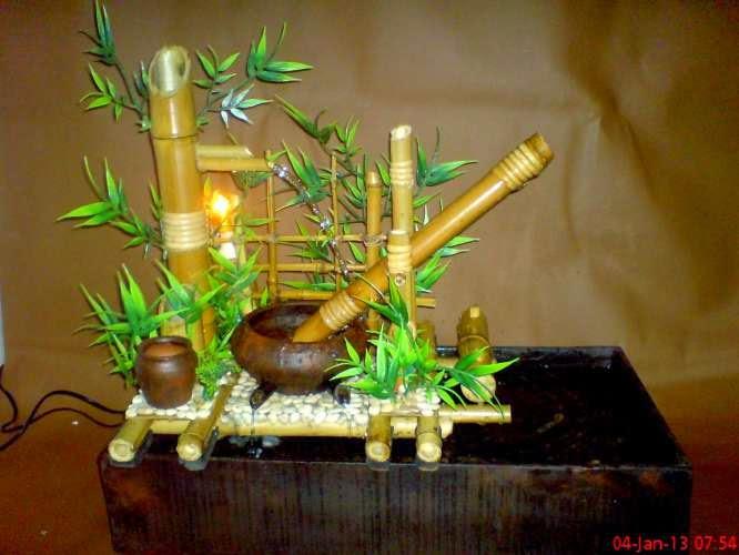Produk Kerajinan Bahan Bambu
