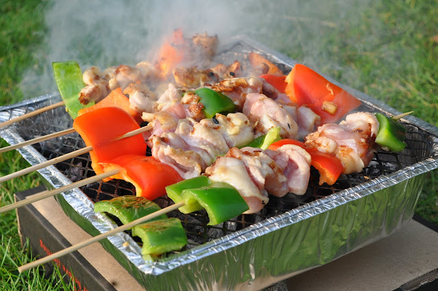 How+to+make+barbecue+chicken+meat+skewer+recipe