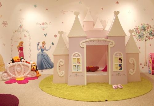 Image gallery habitaciones de princesas for Habitaciones infantiles disney