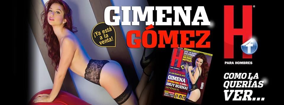 Imagenes Gimena Gómez Revista H Febrero 2014