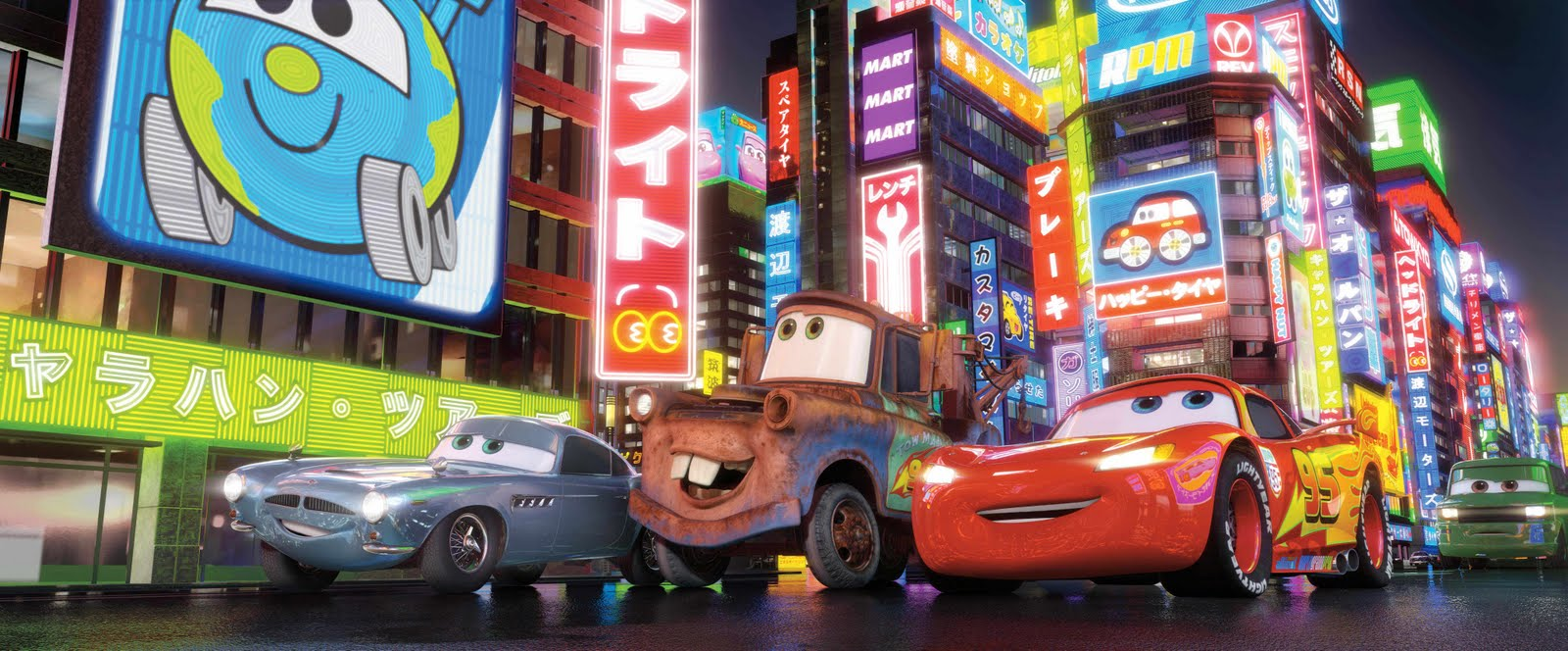Mas imagenes de personajes de cars 2