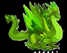 imagen del dragon esmeralda