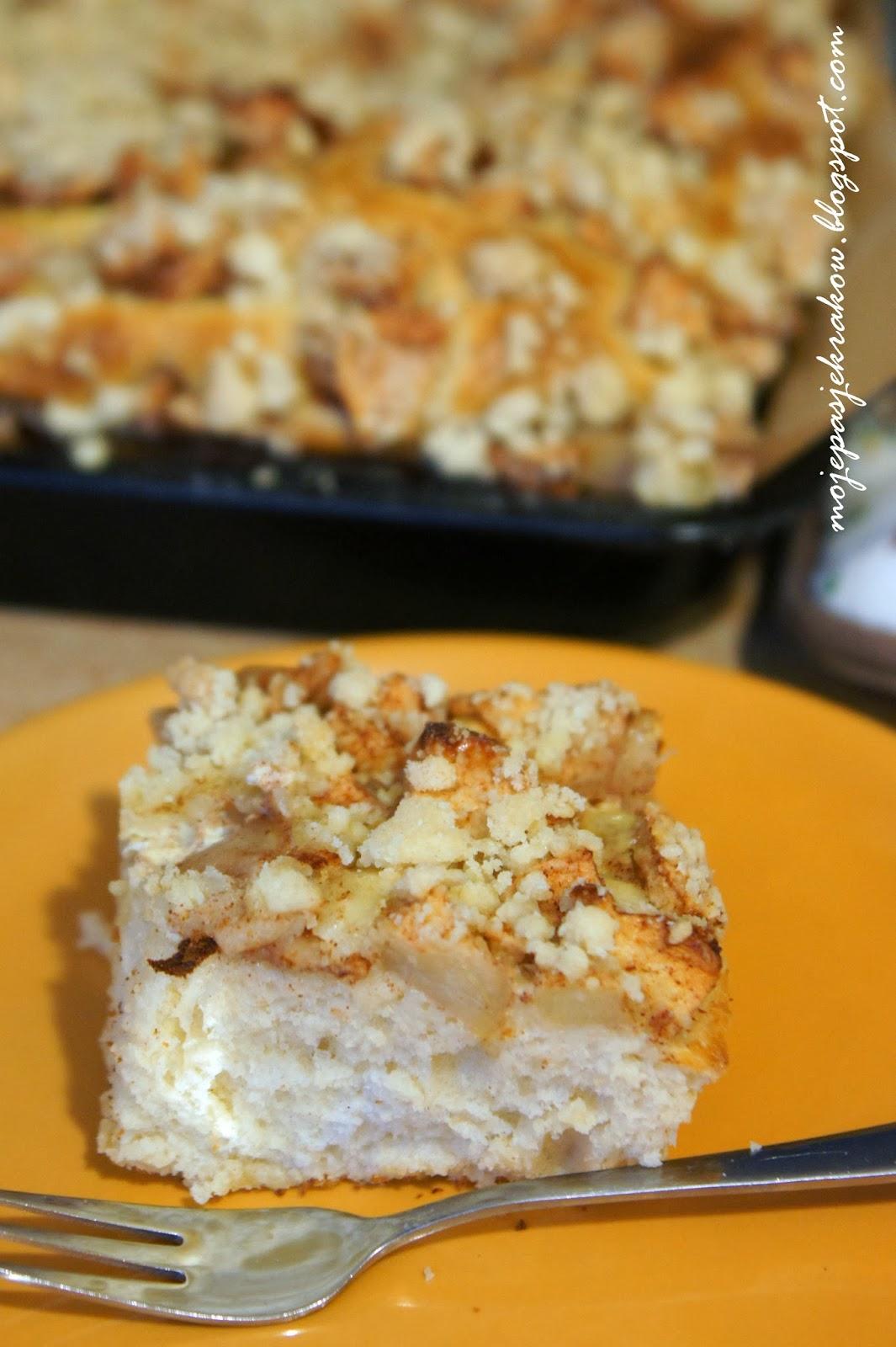 Ciasto Drożdżowe z Jabłkami Przepis Ciasto Drożdżowe z Jabłkami