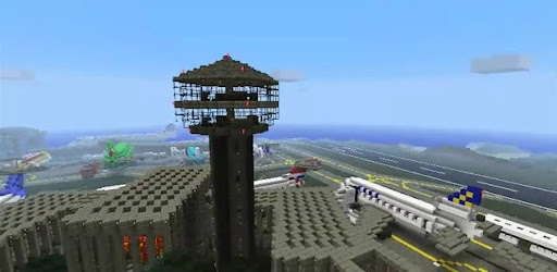 Aéroport Minecraft