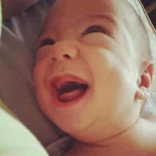 sourire, bebe sourire,amour