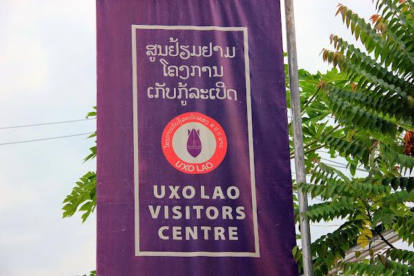 Ingresso al museo UXO Laos Luang Prabang
