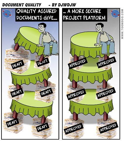 Quality Assured Documents give a more secure Project platform