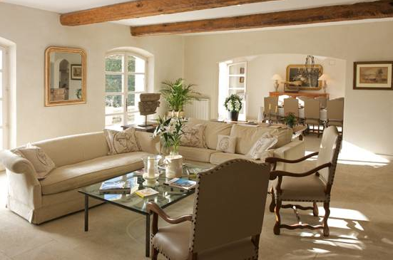 French Country Style Living Rooms