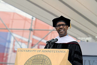 UPenn and Denzel Washington