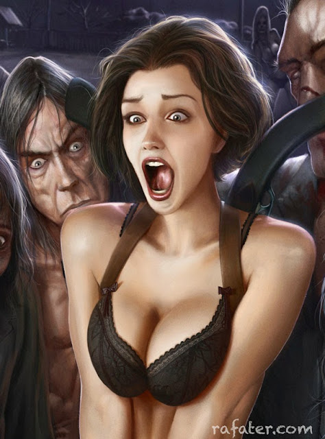 horny zombies by rafater for Ediciones Babylon