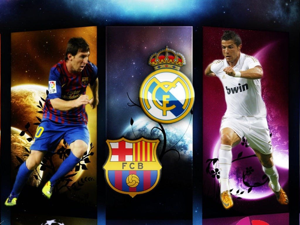 Lionel Messi v Cristiano Ronaldo ALL GOALS 2012/2013 - all news sports