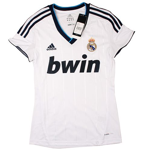 Ladies Jersey Real Madrid Home 12/13
