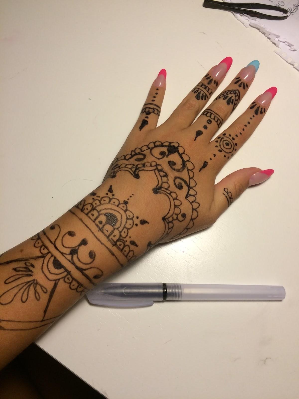 Tal como soy henna for Henna para manos