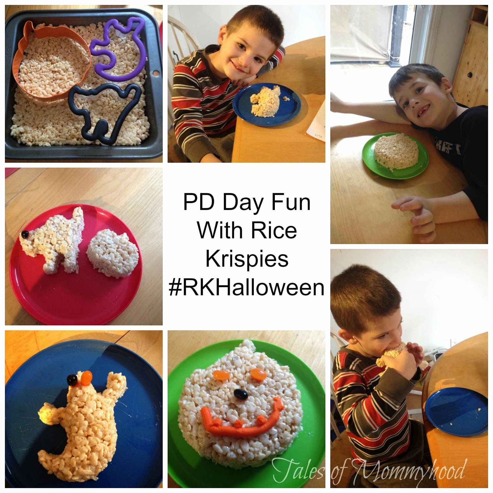 #RKHalloween, Rice Krispies Treats, PD Day fun, optometrist,