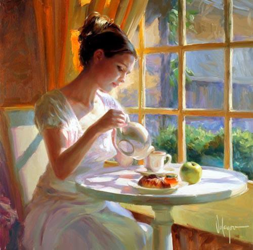 Avez-vous pris un thé ou un café avec Dieu aujourd'hui ? - Page 2 Vladimir,+drinking+tea
