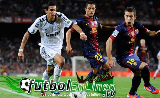 Real Madrid contra Barcelona en vivo 2012