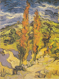 Poplars at Saint-Rémy - Van Gogh