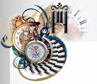 Оригинальные часы для блога