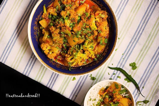 phulkopir dalna recipe bengali pure vegetarian recipe