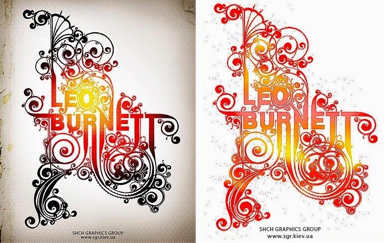 SHCH (ЩА) graphics group Typography
