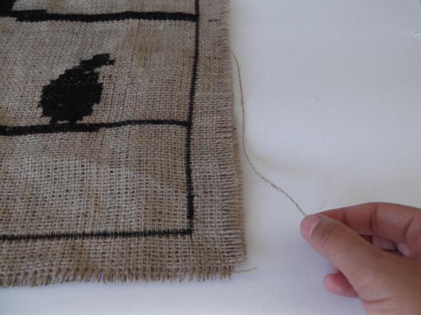 fray fabric,
