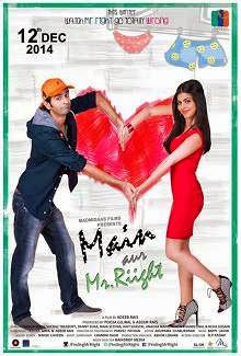 Main Aur Mr. Riight (2014) Hindi Movie Poster