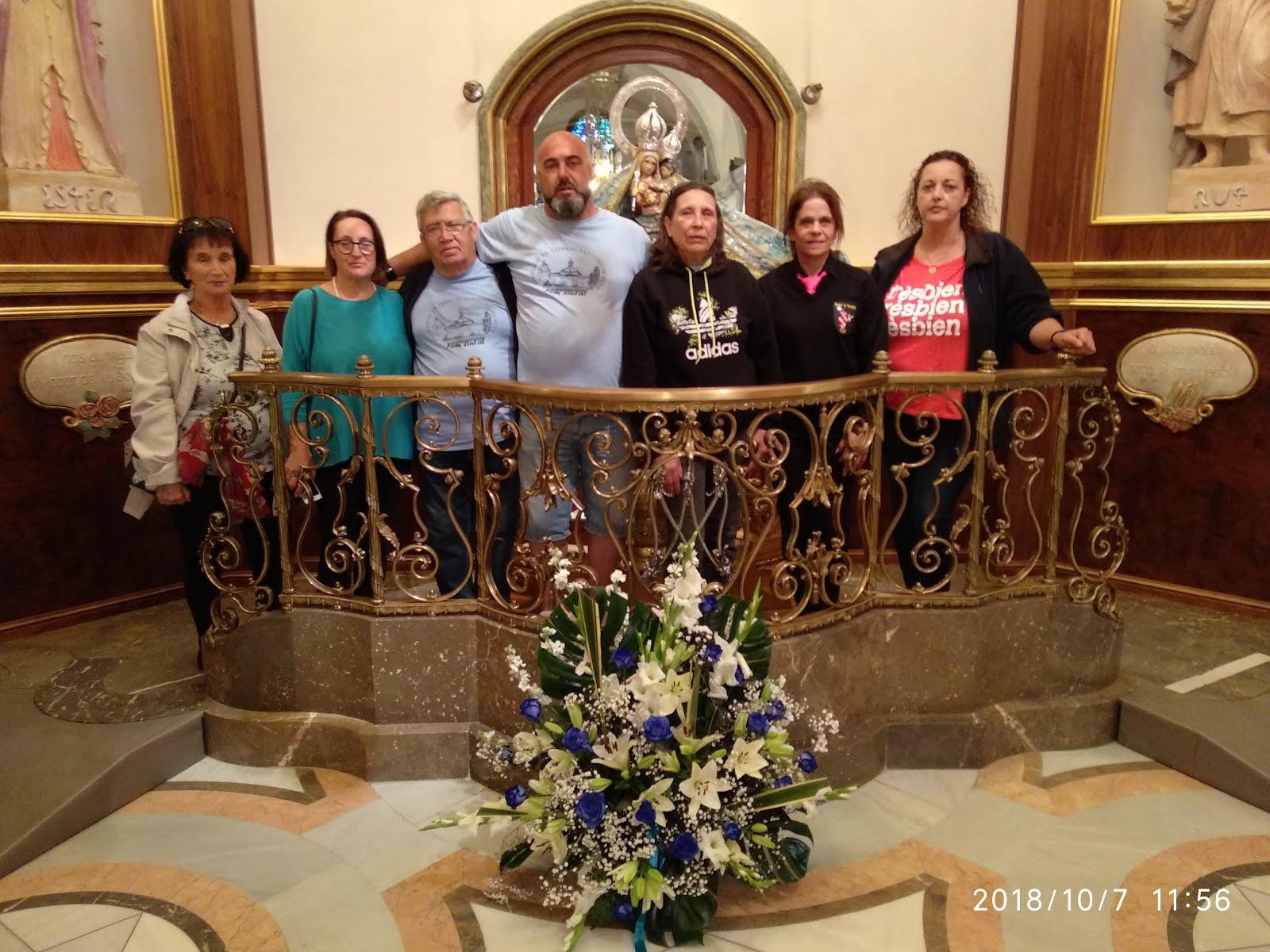 Peregrinació anual i ofrena de l'AAVV Santuari