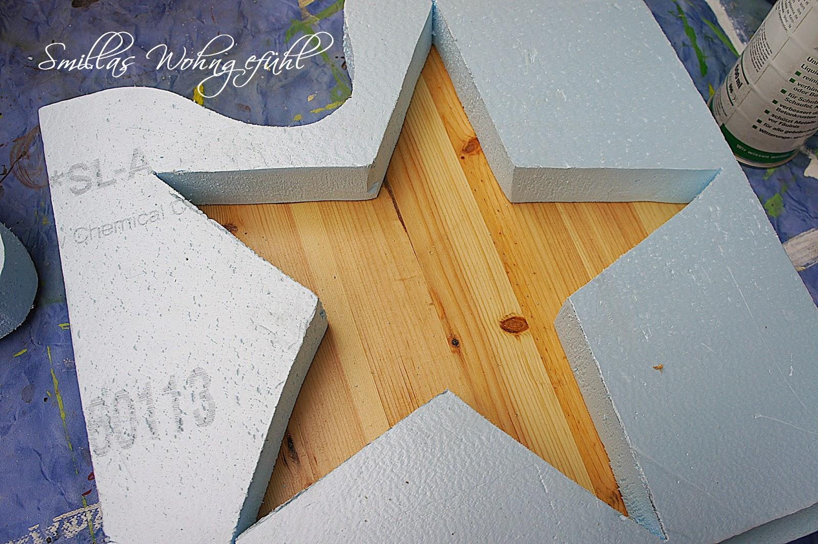 smillas wohngef hl diy a star is born beton sterne. Black Bedroom Furniture Sets. Home Design Ideas