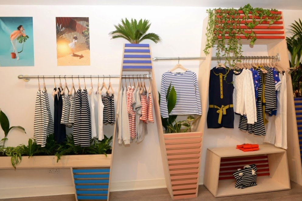 Petit Bateau pop-up store, Shoreditch, London