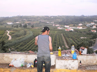 cooking, obidos, lookout