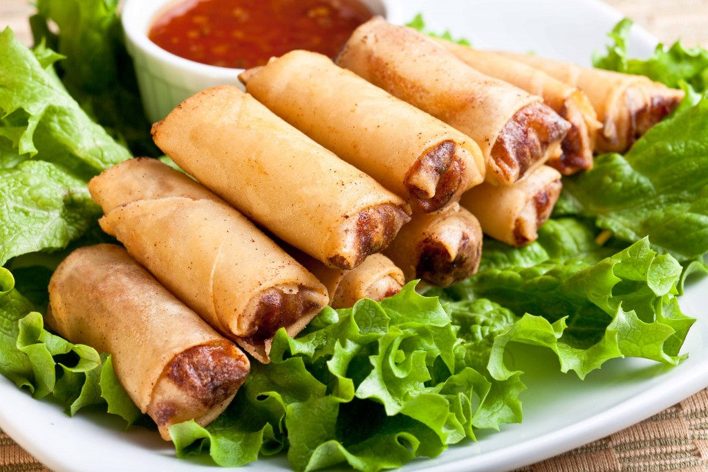 ... Guide 101: Tasty Philippine Recipes - Healthy Baked Lumpia Rolls