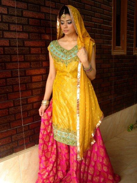 Mehndi Dress 9 - Bridal Mehendi Dressez