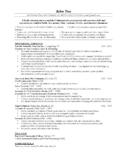Resume quality control officer