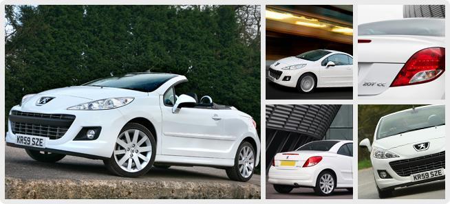 Peugeot 207 CC Facelift Version 2012