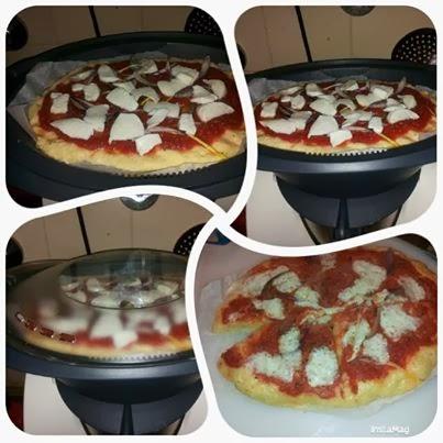 bimby, pizza al vapore al varoma