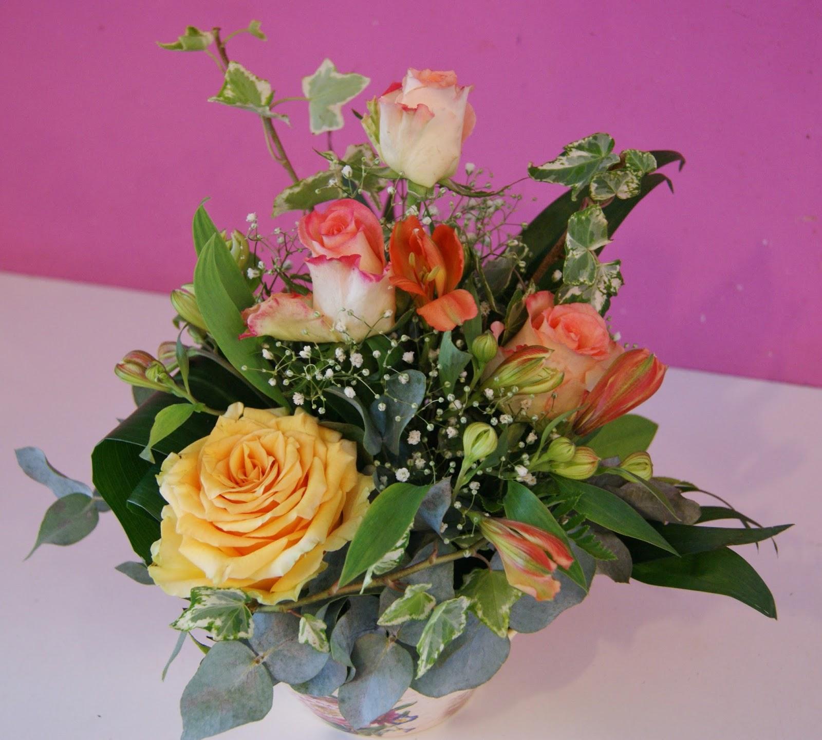 Des Magnolias Sur Ma Voie Lact E Compositions Florales