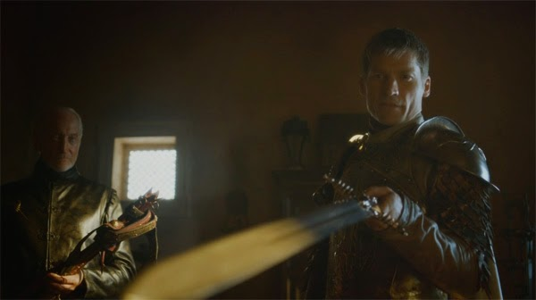 Jaime y Tywin in Game of Thrones 4x01 (Two Swords)