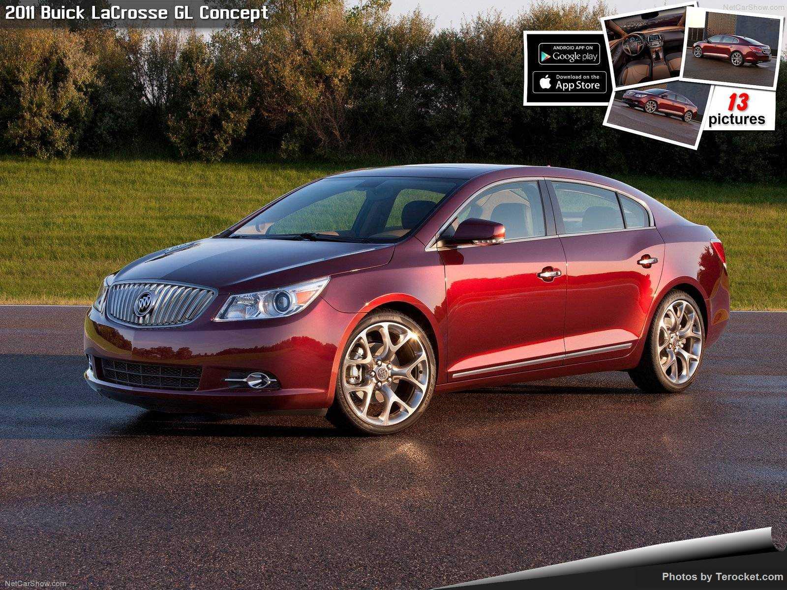 Hình ảnh xe ô tô Buick LaCrosse GL Concept 2011 & nội ngoại thất