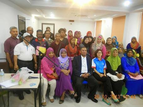 BENGKEL KEUSAHAWAN  -26 OKT 2013 - SAHARA HOTEL RAWANG
