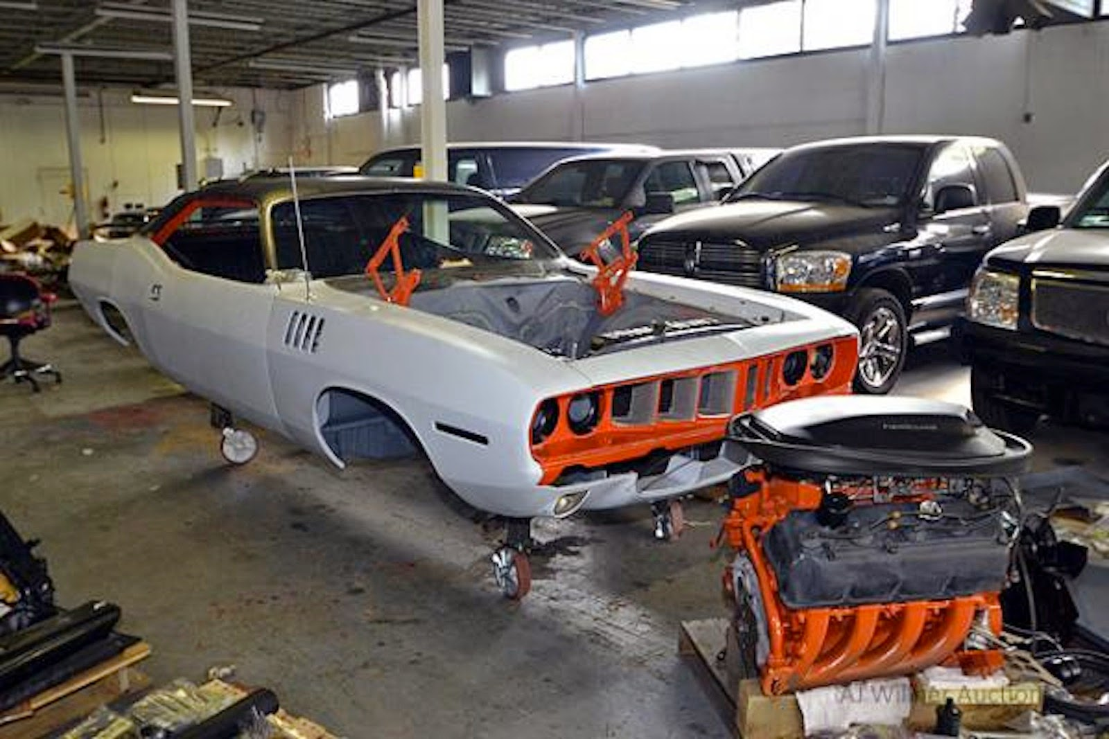 Us Marshals Auction Off Million Worth Of Seized Muscle Cars
