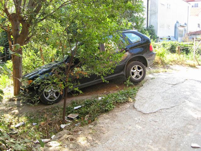 Άλλος ένας που δεν βρήκε πουθενά να παρκάρει