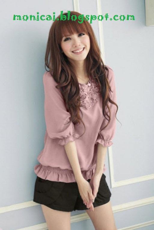 mengenali baju korea asli dan cina impor potongan baju saloma dah