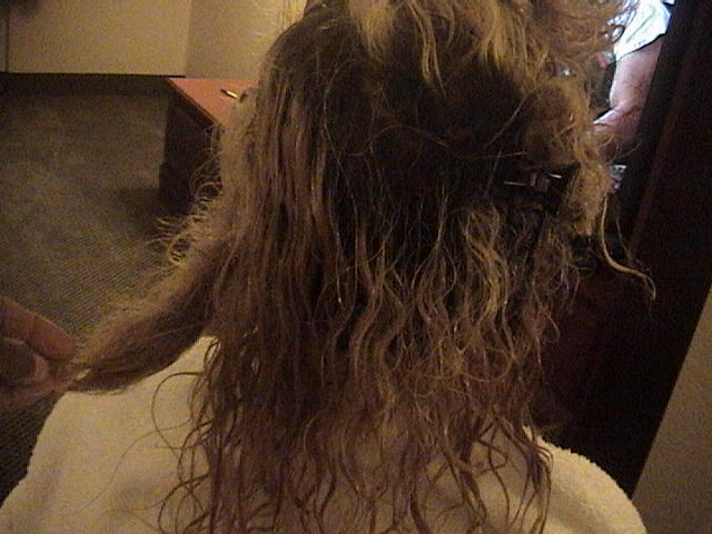Tangled Hair Techs 1 Year Matted Tangled Mess Literally