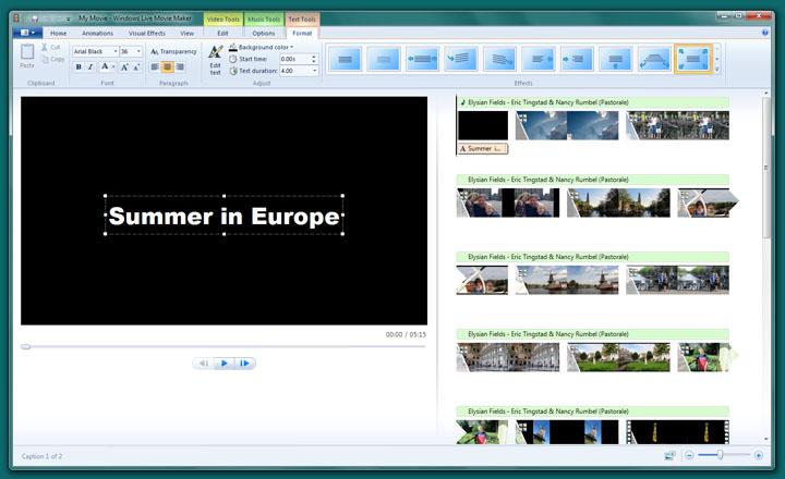 windows movie maker 2.5