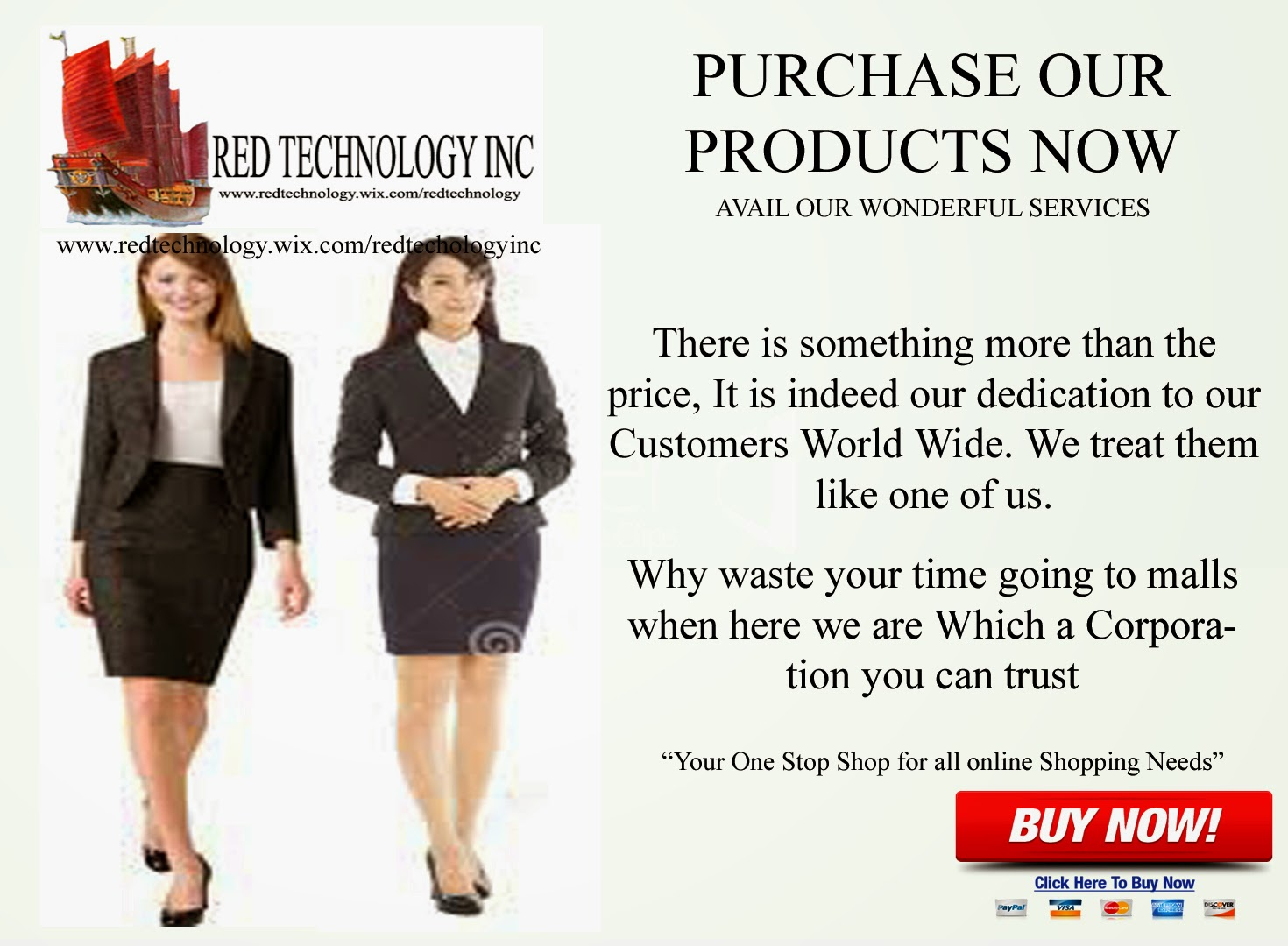 Purchase Red Tech Products Now