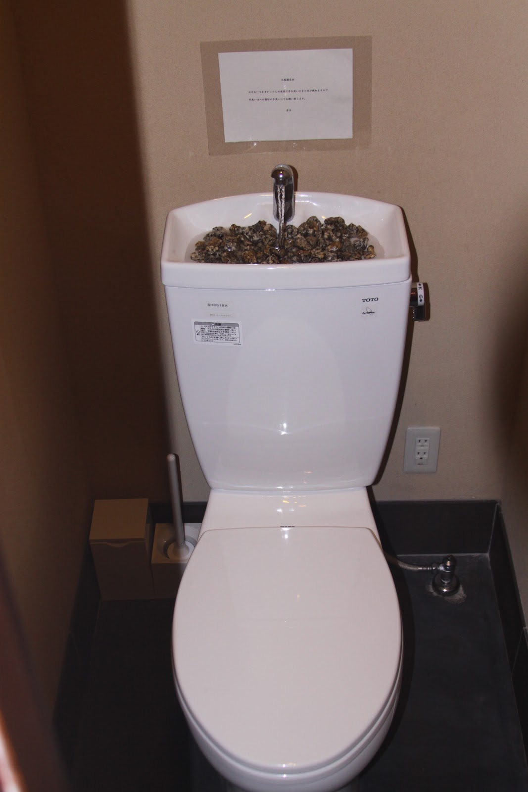 Toilet With A Sink
