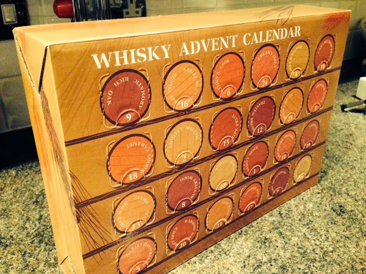 Whisky Advent Calendar Day 1 24 The Balvenie Doublewood